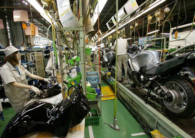 川崎重工業の二輪部門はオマケ程...