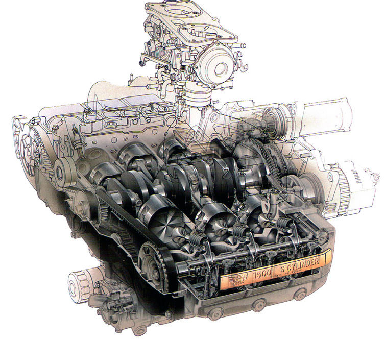 Honda Goldwing Engines, Honda, Free Engine Image For User Manual Download