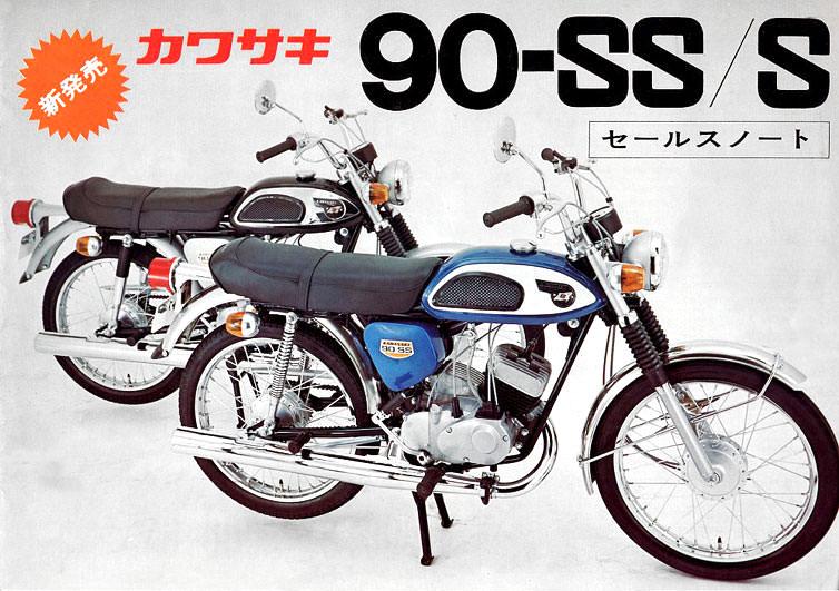 kawasaki 90SS/S