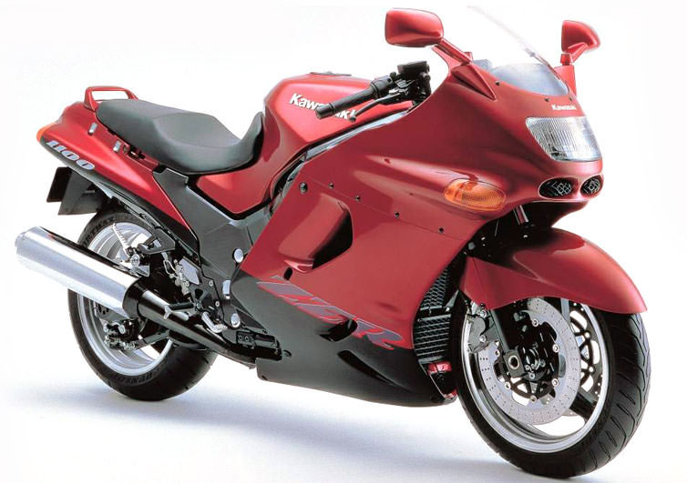 ZZ-R1100(ZX1100D)の系譜